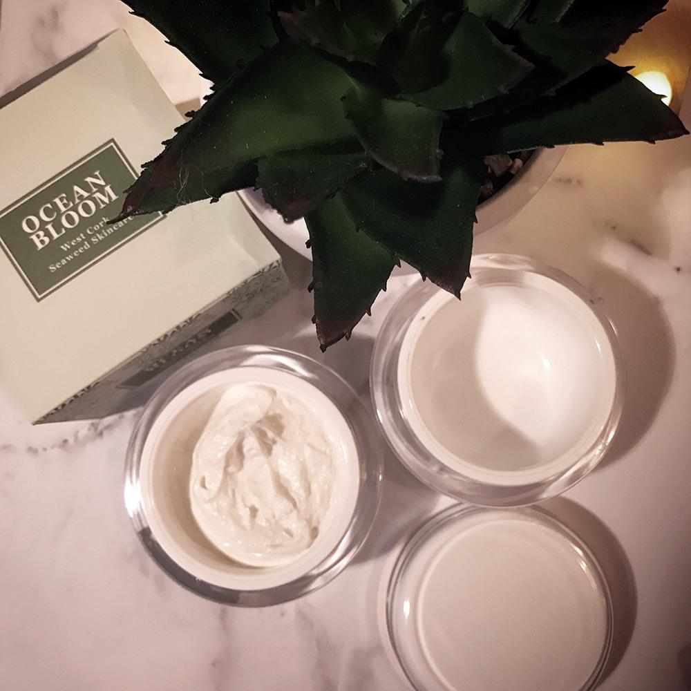 All Things & Seaweed Cream Review - Ocean Bloom Natural Organic Seaweed Skincare range made in Ireland