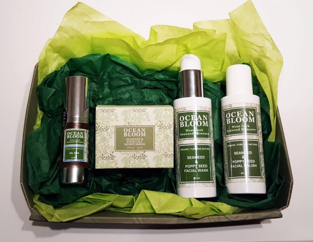 Ocen Bloom Natural Organic Skincare Set